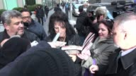 Alice Cooper leaves the FOX Friends show signs and poses for photos with fans in Celebrity Sightings in New York