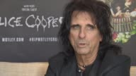 INTERVIEW Alice Cooper on being in good shape feeling his best on stage never smoking not drinking at Royal Garden on June 10 2015 in London England