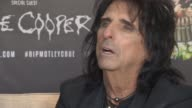 INTERIVEW Alice Cooper on Mumford Sons not being Rock on the first album Mumford Sons new album at Royal Garden on June 10 2015 in London England