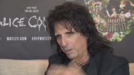 INTERIVEW Alice Cooper on not playing Glastonbury Festival to violent for the Glastonbury Festival Michael Eavis at Royal Garden on June 10 2015 in...