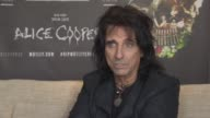 INTERIVEW Alice Cooper on reality TV shows getting the contestants to write a son how long would Bob Dylan last on The Voice at Royal Garden on June...