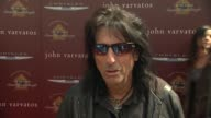 Alice Cooper on why he wanted to come out to support the cause what he loves about John Varvatos clothes and looking forward to seeing Dave Matthews...