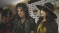 INTERVIEW Alice Cooper Sheryl Goddard on being at the awards how he handles touring at Classic Rock and Roll of Honour at The Roundhouse on November...
