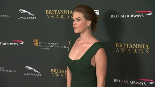 Alice Eve at 2013 BAFTA Los Angeles Jaguar Britannia Awards Presented By BBC America in Beverly Hills CA on