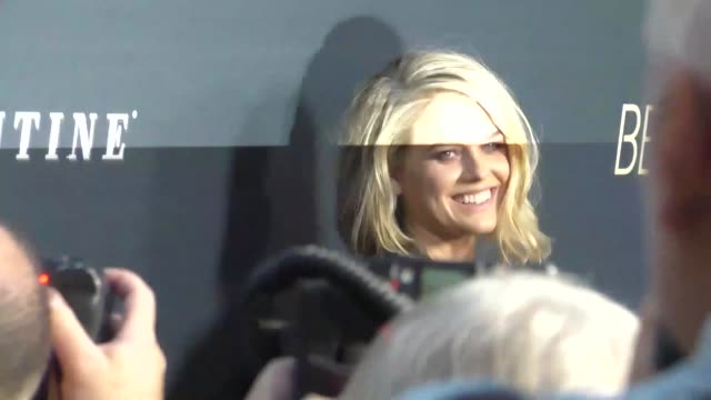 Alice Eve at the Before We Go Premiere at ArcLight Theater in Hollywood in Celebrity Sightings in Los Angeles