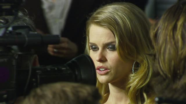 Alice Eve at the 'Starter For 10' Los Angeles Premiere at Arclight Cinemas in Hollywood California on February 6 2007