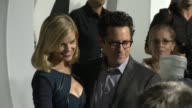 Alice Eve JJ Abrams at Star Trek Into Darkness Bluray And DVD Release on 9/10/2013 in Los Angeles CA