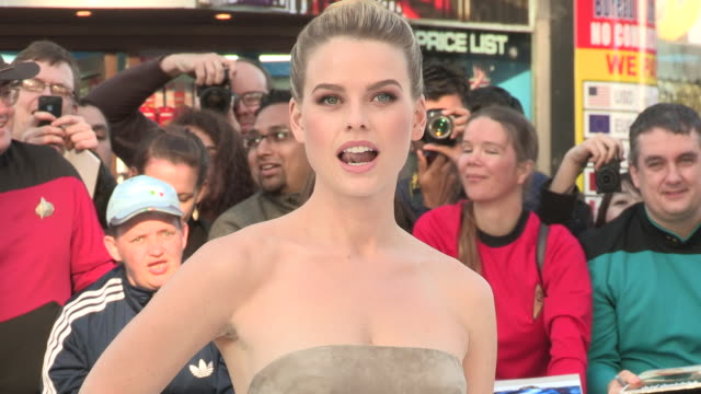 Alice Eve on being in London memories of Star Trek and her character at the Star Trek Into Darkness UK Premiere 2nd of May 2013