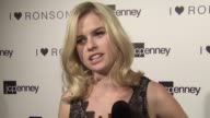 Alice Eve on the Ronson collection at the JCPenney Celebrates Charlotte Ronson's I 'Heart' Ronson Summer Sportswear Collection at Hollywood CA