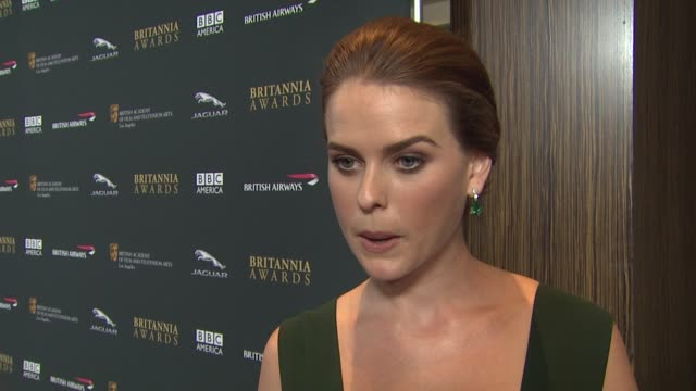 INTERVIEW Alice Eve on why she thinks it's so important that BAFTA at 2013 BAFTA Los Angeles Jaguar Britannia Awards Presented By BBC America in...