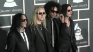 Alice In Chains at the 52nd Annual GRAMMY Awards Arrivals at Los Angeles CA