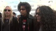 Alice in Chains on Sonisphere being at the Kerrang awards the new album and advice for new bands at the Kerrang Awards at London England
