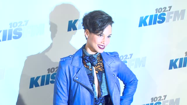 Alicia Keys at 1027 KIIS FM's Jingle Ball 2012 Night 2 on 12/4/12 in Los Angeles CA