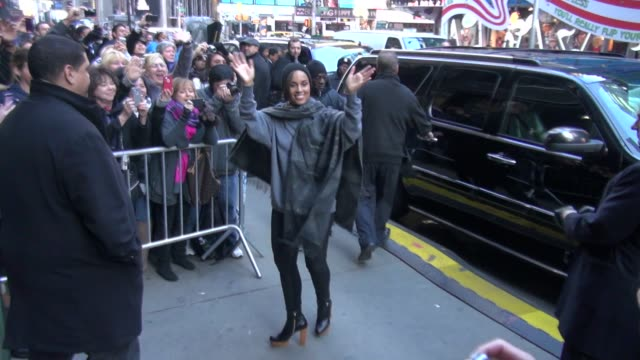 Alicia Keys at the 'Good Morning America' studio Alicia Keys at the 'Good Morning America' studio on November 26 2012 in New York New York
