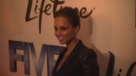 Alicia Keys at the 'Premiere Of Lifetime's Five From Jennifer Aniston Demi Moore Alicia Keys' at New York NY