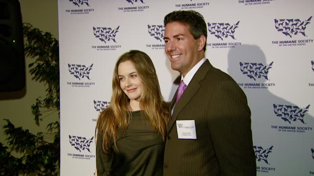 Alicia Silverstone and Wayne Parcelle at the 'Hollywood Goes Humane Celebrating The Humane Society of the United States' at Private residence in...