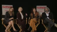 INTERVIEW Alicia Silverstone Anne Heche Sandra Oh Onur Tukel at the 'Catfight' Los Angeles Press Day at Siren Studios on February 21 2017 in...
