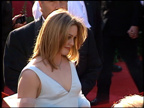Alicia Silverstone at the 1996 Academy Awards Arrivals at the Shrine Auditorium in Los Angeles California on March 25 1996