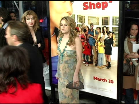 Alicia Silverstone at the 'Beauty Shop' World Premiere at the Mann National Theatre in Westwood California on March 24 2005