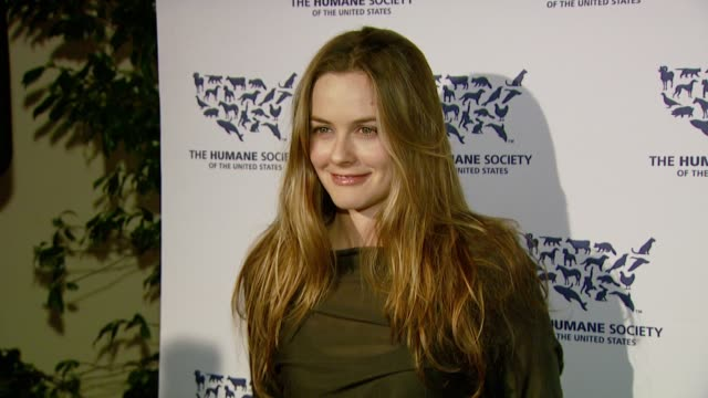 Alicia Silverstone at the 'Hollywood Goes Humane Celebrating The Humane Society of the United States' at Private residence in Hollywood California on...