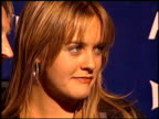 Alicia Silverstone at the PETA 20th Anniversary Party at Viper Room in Hollywood California on September 13 2000