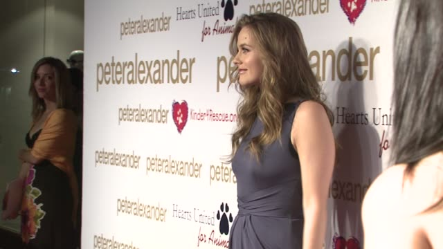 Alicia Silverstone at the PETER ALEXANDER LAUNCHES NEW FLAGSHIP BOUTIQUE at Los Angeles CA