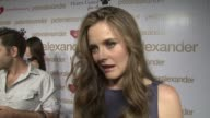 Alicia Silverstone on being a part of the evening when she first discovered Peter Alexander why animal animal advocacy is important to her what she...
