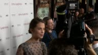Alicia Vikander at Anna Karenina Premiere Presented By Focus Features on 11/14/12 in Los Angeles CA