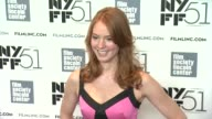 Alicia Witt at 'About Time' Premiere The 51st New York Film Festival at Alice Tully Hall on October 01 2013 in New York New York