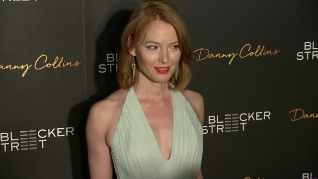 Alicia Witt at New York Premiere of Bleeker Street's Danny Collins at AMC Lincoln Square Theater on March 18 2015 in New York City