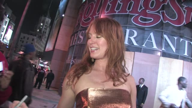 Alicia Witt at Rolling Stone Cafe in Hollywood