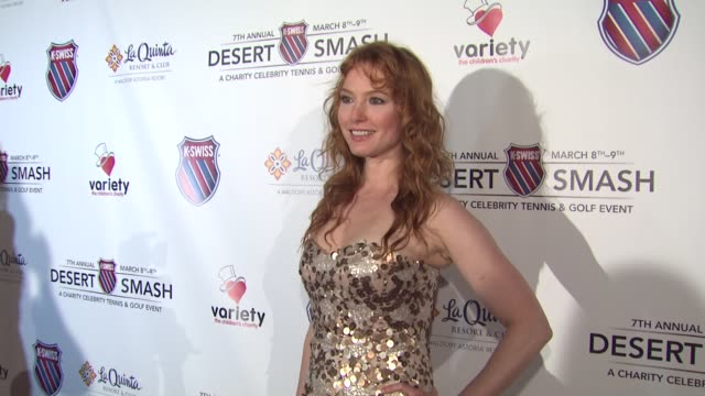 Alicia Witt at the 7th Annual KSwiss Desert Smash at Palm Springs CA