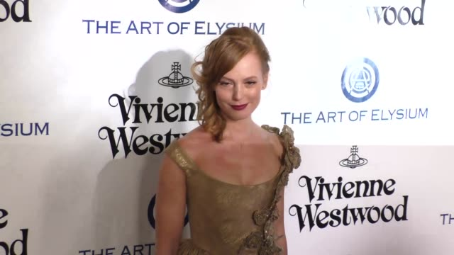 Alicia Witt at The Art of Elysium's 9th Annual HEAVEN Gala at 3LABS in Culver City at Celebrity Sightings in Los Angeles on January 09 2016 in Los...