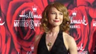 Alicia Witt at the Hallmark Channel and Hallmark Movies and Mysteries Winter 2017 TCA Press Tour at Tournament House on January 14 2017 in Pasadena...