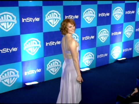 Alicia Witt at the InStyle/Warner Brothers Golden Globes Party at the Beverly Hilton in Beverly Hills California on January 16 2006