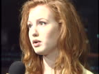 Alicia Witt at the Mr Hollands Opus Movie Premiere at Cinerama Dome