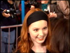 Alicia Witt at the Premiere of 'The Birdcage' on March 5 1996