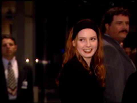 Alicia Witt at the Premiere of 'The Crossing Guard' on November 9 1995