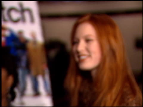 Alicia Witt at the 'Snatch' Premiere at DGA in Los Angeles California on January 18 2001