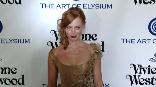 Alicia Witt at the The Art of Elysium's Ninth Annual Heaven Gala at 3LABS on January 9 2016 in Culver City California