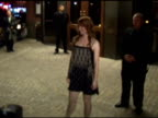 Alicia Witt at the Welcome To The Reilly Premiere at the Celebrity Sightings in New York at New York CA