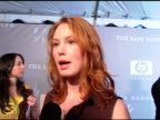 Alicia Witt has had friends raped and addresses how the foundation helps the public and she is excited to see the PandS line at the Proenza Schouler...
