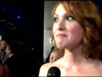 Alicia Witt on her character playing roles of characters that are edgy or mean working with Queen Latifah and living in the hotel in Europe with the...