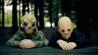 Alien mask.