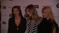 Alina Baikova Andreja Pejic and Michaela Kocianova at GQ Gentlemen's Cocktail Reception Awards Ceremony at The Gent on October 22 2015 in New York...