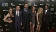 Alison Brie Adam Scott Jason Sudeikis Andrea Savage Natasha Lyonne and Jason Mantzoukas at the 'Sleeping With Other People' Los Angeles Premiere at...