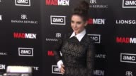 Alison Brie at AMC's Mad Men Season Five Special Premiere Screening on 3/14/2012 in Hollywood CA