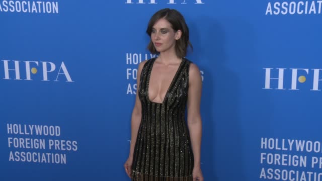 Alison Brie at Hollywood Foreign Press Association's Grants Banquet in Los Angeles CA