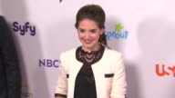 Alison Brie at the NBC Universal Press Tour AllStar Party at Los Angeles CA