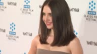 Alison Brie at the TCM Classic Film Festival Opening Night Screening Of 'A Star Is Born' at Hollywood CA